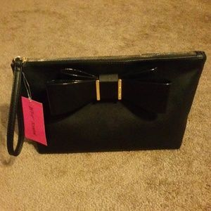 Betsey Johnson Bow Wristlet NEW
